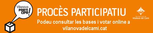 Vilanova Participa baner VI