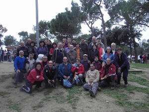 La Colla Excursionista vilanovina a la XII Marxa de Sant Fruitós de Bages