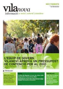 Nova edició del butlletí Vilanova Informació, febrer 2010