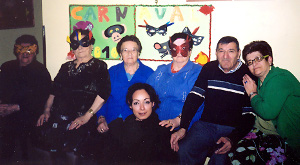 La gent gran vilanovina celebra el carnaval aquest dissabte
