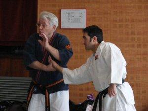 Elevat nivell tècnic en el Curs Nacional Mestre Roland Hernaez, a Vilanova del Camí