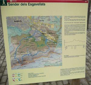 Acabades les feines de manteniment i renovació de la ruta del Turó de l'Aromir