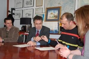 Es renoven els convenis de col·laboració amb les entitats del comerç vilanovines