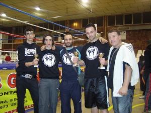 El vilanoví Andreas Lozano, campió d'Espanya amateur de Kick-Boxing i Muay Thai
