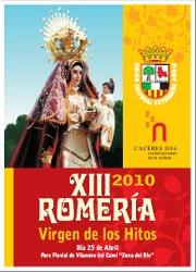 La Unió Cultural Extremenya homenatja a la Verge de los Hitos en la XIII Romeria