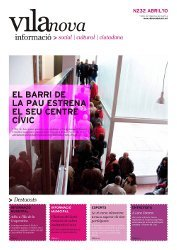 Surt al carrer una nova edició del butlletí Vilanova Informació i de la guia municipal