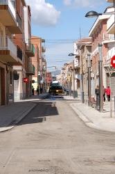 Comencen les obres de fressat i reasfaltat del carrer Santa Llúcia