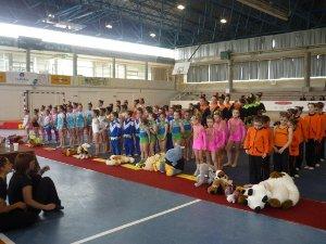 Vilanova acull la segona fase del Campionat de Catalunya de gimnàstica rítmica en edat escolar
