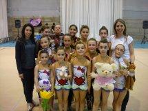 Tres pòdiums més per al Club Rítmica Vilanova en la segona fase del CCEEE