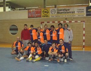 Emocionant trobada del Club Deportivo Cavernícola en el seu 18è aniversari