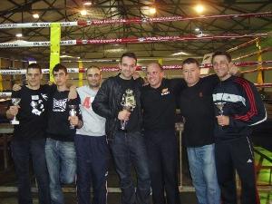 Excel·lent resultat de 4 vilanovins a la vetllada de Muay Thai, Kick-Boxing i K1, a Terrassa