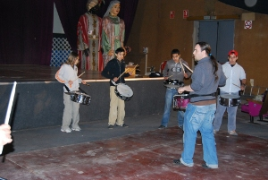 Comença amb èxit un nou curs de percussió al Camp del Rei