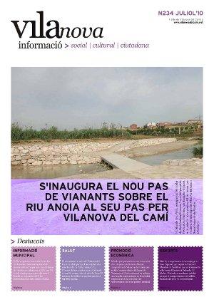 Surt al carrer el darrer número del butlletí Vilanova Informació abans de l'estiu