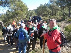 Vilanova acomiada Josep Mateu Botines, membre de la Colla Excursionista