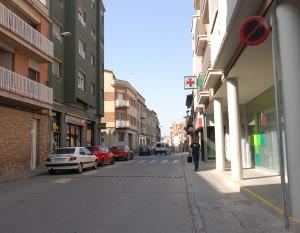 El carrer Major, una obra important per completar la millora urbanística del centre de Vilanova del Camí