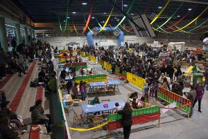 900 Assistents Balanc De Concurrencia Al Salo De La Infancia De