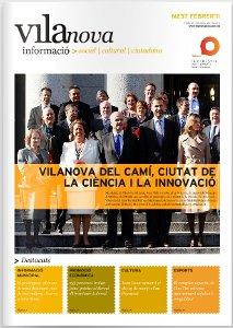 El butlletí 'Vilanova Informació' de febrer i la 'Guia' amb les propostes d'hivern, a les bústies i al web