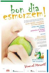 A l'abril, nova campanya 'Bon dia, Esmorzem!' al Mercat Municipal