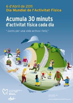 Les infermeres del CAP organitzen una caminada saludable amb motiu del Dia Mundial de l'Activitat Física