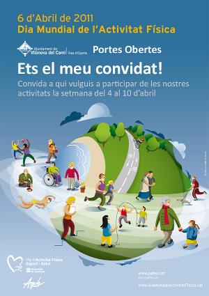 El CAP i l'Àrea d'Esports de Vilanova del Camí celebraran el Dia Mundial de l'Activitat Física