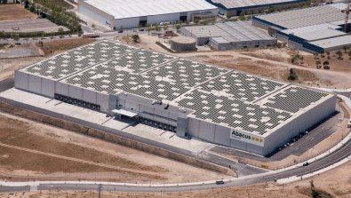 El conseller Recoder inaugura dilluns la coberta solar del Centre Logístic d'Abacus