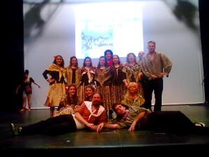 L'Esbart Dansaire de Vilanova del Camí amb Llorca, al II Festival Folklòric Regional