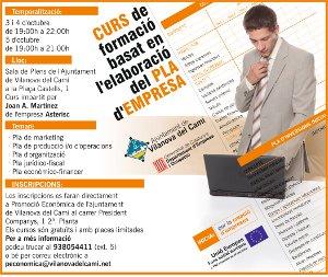 Un curs de formació anima a les persones emprenedores a elaborar el seu Pla d'Empresa