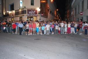 Animada caminada nocturna de Festa Major amb la Colla Excursionista de Vilanova del Camí