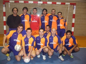 La Penya Blaugrana Igualada, campiona del XVI Trofeu Cavernícola de Futbol Sala