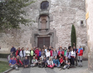 La Colla Excursionista de Vilanova del Camí fa la ruta del Salt de Sallent