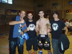 Vetllada internacional de Kick Boxing a Andorra amb participació vilanovina