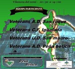Els veterans de la Penya Bètica organitzen el Memorial Ismael Copoví