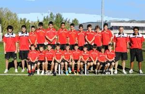 Victòria dels amateurs del Club Futbol Vilanova davant el Juan XXIII