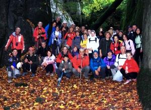 Caminada per la Serra de Bufadors amb la Colla Excursionista de Vilanova del Camí