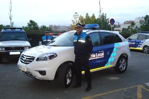 Nou vehicle patrulla de la Policia Local de Vilanova del Camí