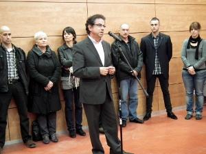 L'alcalde i la resta d'autoritats municipals feliciten les entitats vilanovines