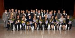 Homenatge als matrimonis vilanovins en les seves Noces d'Or