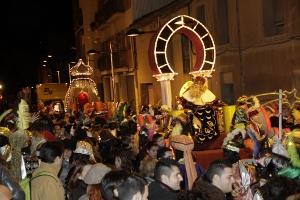 Èxit de participació a la festa de Reis de Vilanova del Camí