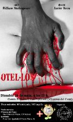 La representació d'Otel·lo puja a l'escenari de Can Papasseit, dissabte