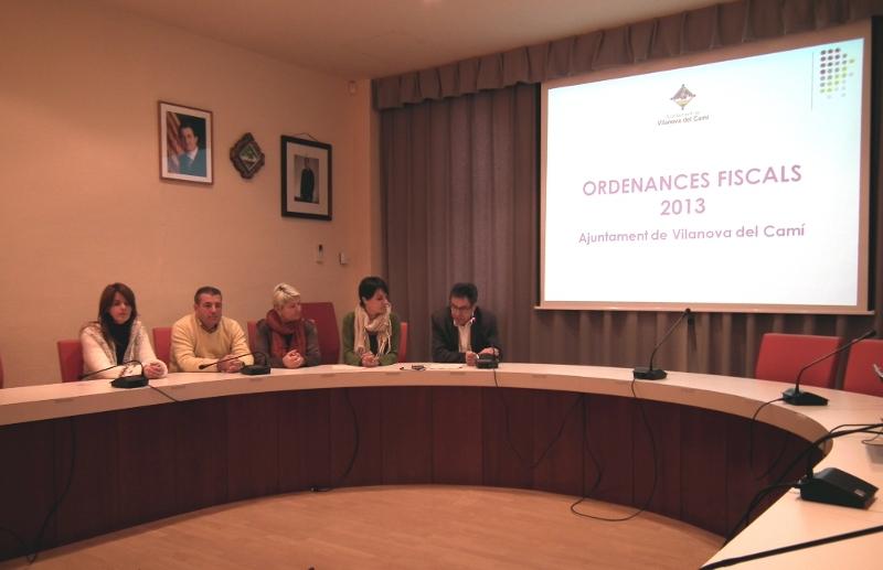 L'alcalde fa una crida a la responsabilitat per aprovar les ordenances fiscals de 2013