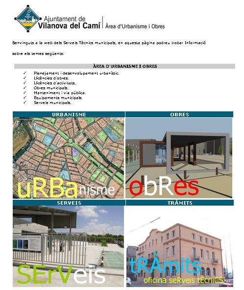 El govern català valora una eina tecnològica dels serveis tècnics vilanovins en matèria urbanística