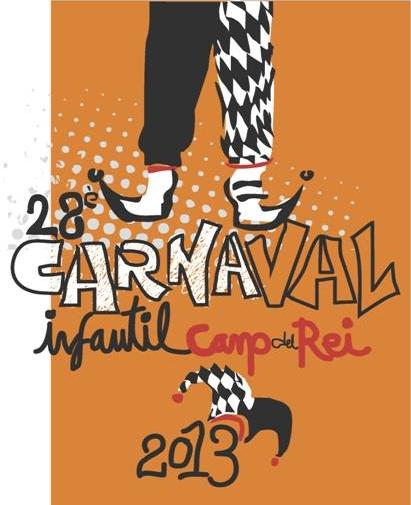 El carnaval infantil arriba de la mà i el ritme de l'associació Camp del Rei
