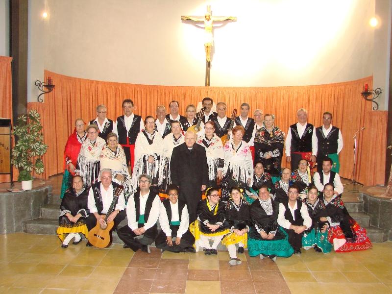 Participada festa de la Candelera del centre extremeny