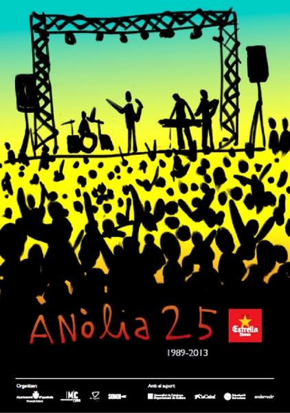 Obrint Pas, Els Catarres, Gerard Quintana i els Manel a l'Anòlia 2013