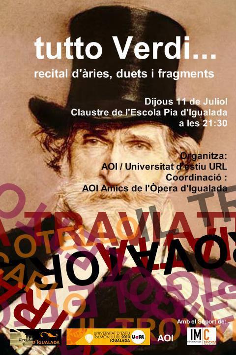 'Tutto Verdi' convida al públic a endinsar-se en el món de l'òpera