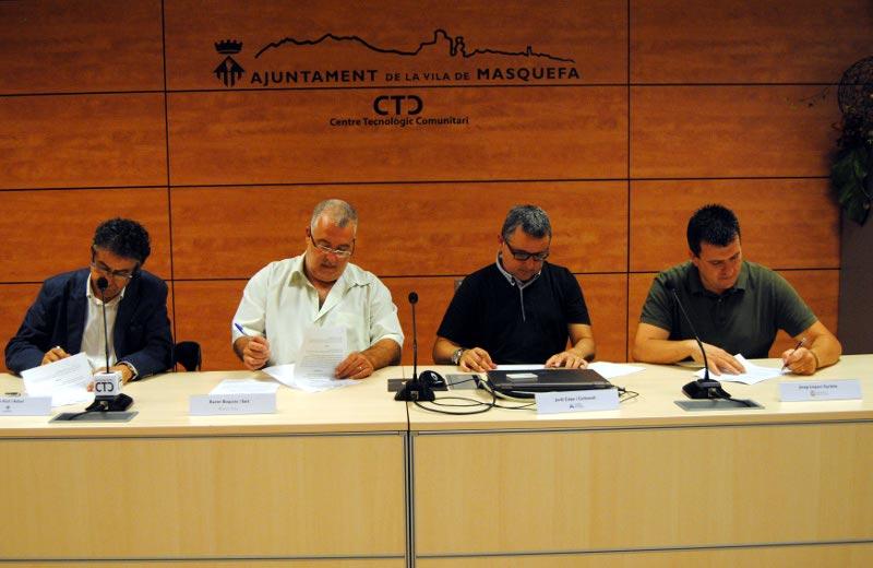 El Consell s'alia amb Vilanova, Igualada, Piera i Masquefa per coordinar els serveis a les empreses