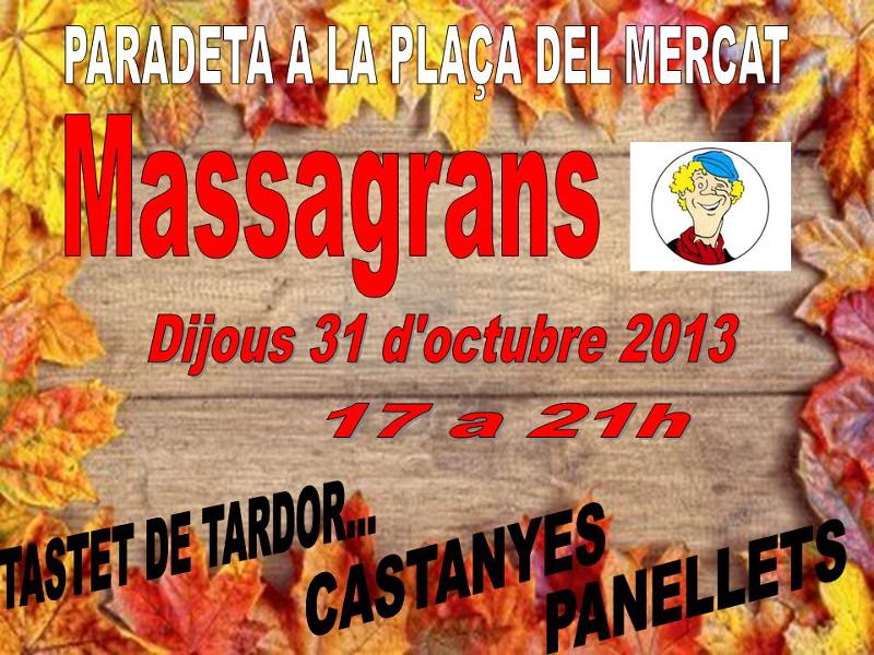 Tastet de castanyes i panellets dels Massagrans del Marta Mata