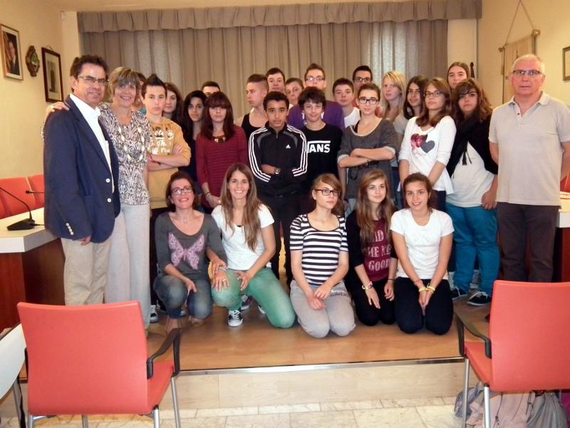 Alumnes de Vilanova i Amilly comparteixen una nova setmana d'intercanvi