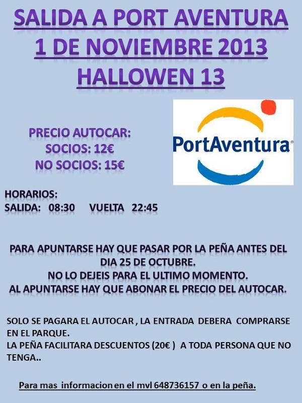 La Penya Madridista prepara un autocar per viure Hallowen a Port Aventura