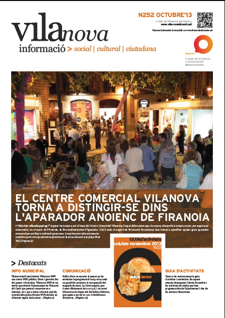 Vilanova Informació octubre 2013 – Butlletí municipal n.252